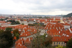 Views over Prague from Prague Castle, Czech Republic