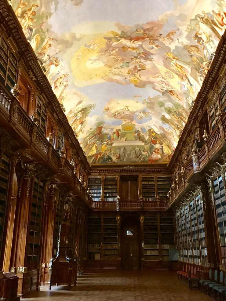 Philosophy Room Library, Strahov Monastery, Prague, Czech Republic