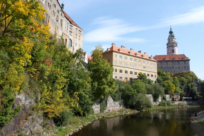 Castle, Cesky Krumlov, Czech Republic