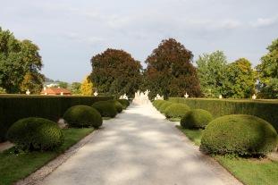 Cesky Krumlov castle gardens, Czech Republic