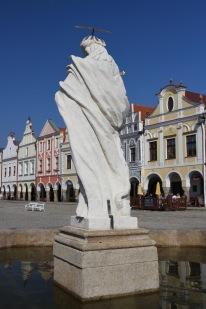 Zacharias of Hradec square, Telc, Czech Republic