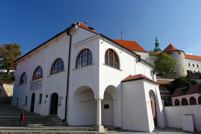 Upper Synagogue, Mikulov, Czech Republic