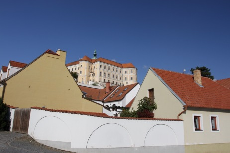 Mikulov castle, Czech Republic