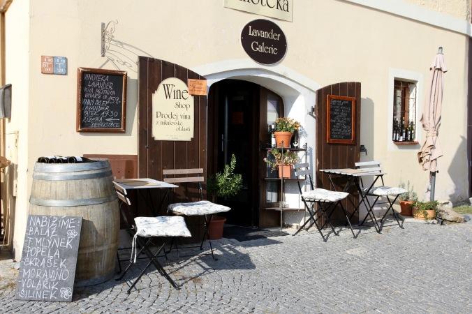 Wine bar, Mikulov, Czech Republic