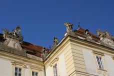 Valtice palace, Moravia, Czech Republic