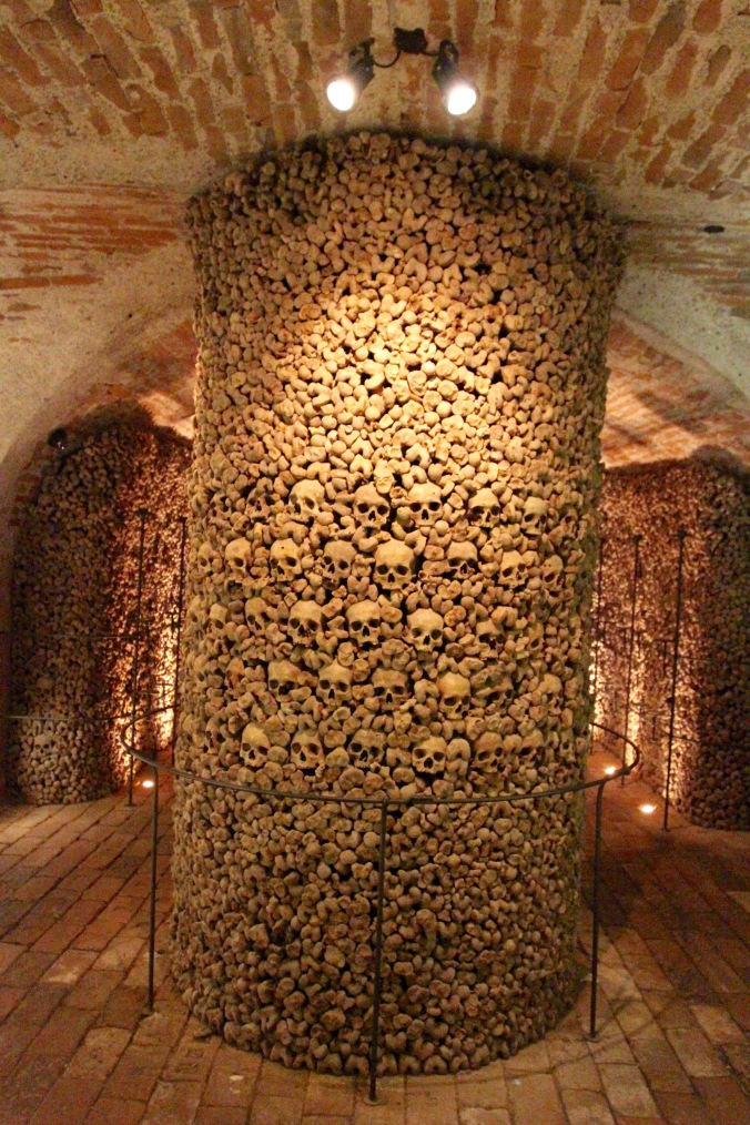 Ossuary of St. James' Church, Brno, Czech Republic