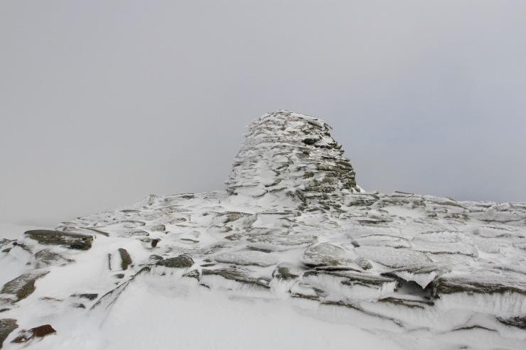Summit, Old Man of Coniston, Lake District, Cumbria, England