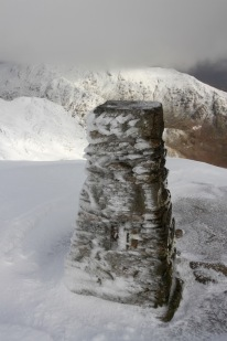 Summit, Old Man of Coniston, Lake District, Cumbria, England