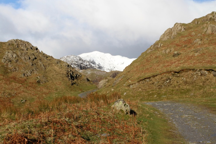 Walking the Old Man of Coniston, Lake District, Cumbria, England