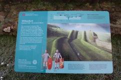 Hadrian's Wall at Willowford, Northumberland, England