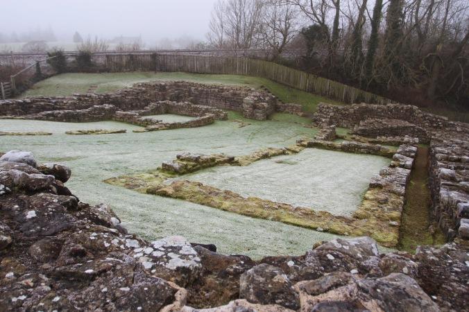 Roman Fort at Poltross Burn, Hadrian's Wall, Northumberland, England