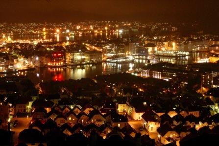Views over Bergen, Bergen, Norway