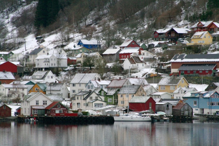 Norway in a Nutshell trip through the fjords, Bergen, Norway