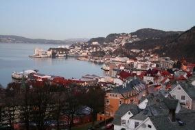 Views over Bergen from Fløyen, Bergen, Norway