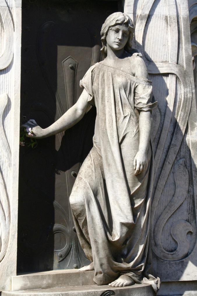 Tomb of Rufina Cambeceres, Cementerio de la Recoleta, Buenos Aires, Argentina