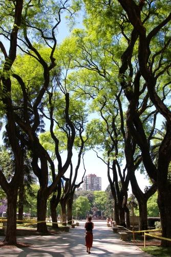 Plaza San Martin, Buenos Aires, Argentina