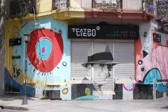 Carlos Gardel art, Abasto, Buenos Aires, Argentina