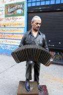 Tango statue, Abasto, Buenos Aires, Argentina