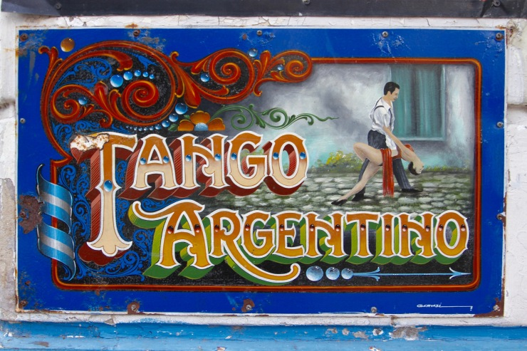 Tango art, Abasto, Buenos Aires, Argentina