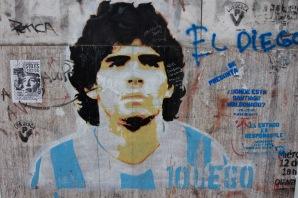 Diego Maradona, La Boca, Buenos Aires, Argentina