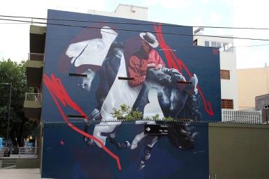 Street art, La Boca, Buenos Aires, Argentina