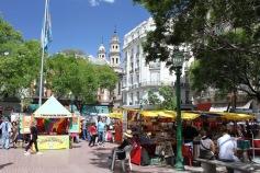Plaza Dorrego, San Telmo, Buenos Aires, Argentina