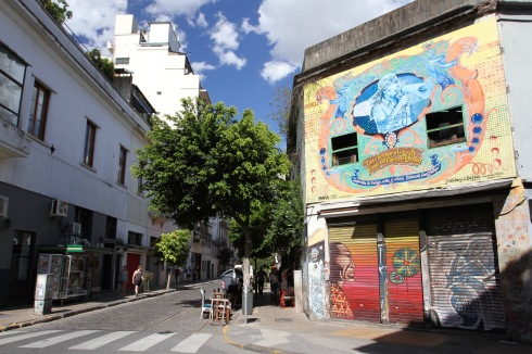 Street Art, San Telmo, Buenos Aires, Argentina
