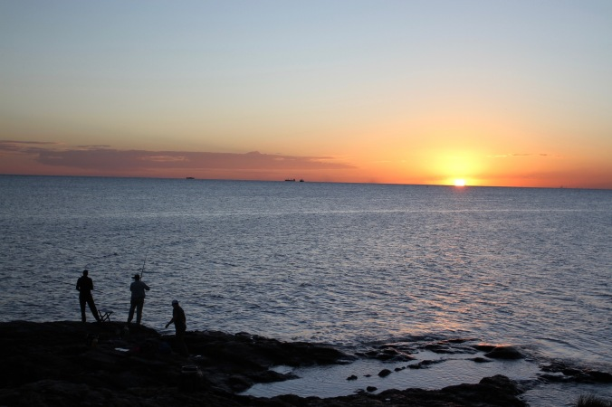 Sunset, Colonia de Sacramento, Uruguay, South America