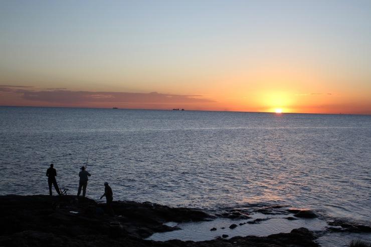 Sunset, Colonia de Sacramento, Uruguay, South America