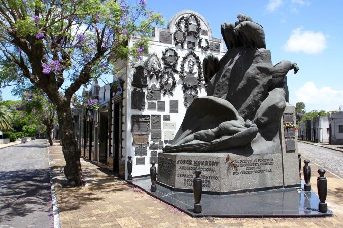 Cementerio de la Chacarita, Buenos Aires, Argentina