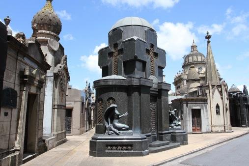 Chacarita Cemetery, Buenos Aires, Argentina
