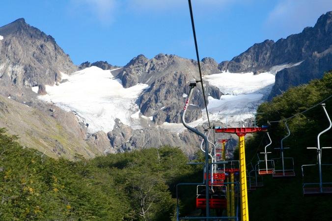 Martial Glacier, Ushuaia, Tierra del Fuego, Argentina