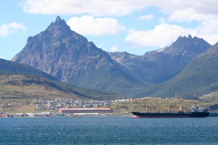 Sailing the Beagle Channel, Tierra del Fuego, Argentina