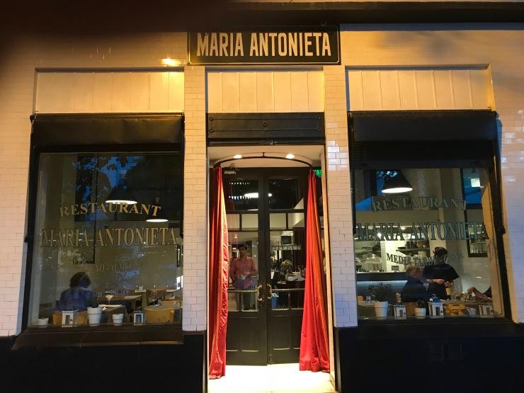 Restaurant Maria Antonieta, Mendoza, Argentina