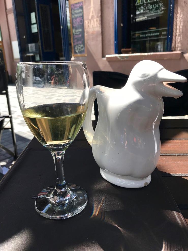 Pinguino of wine, Mendoza, Argentina