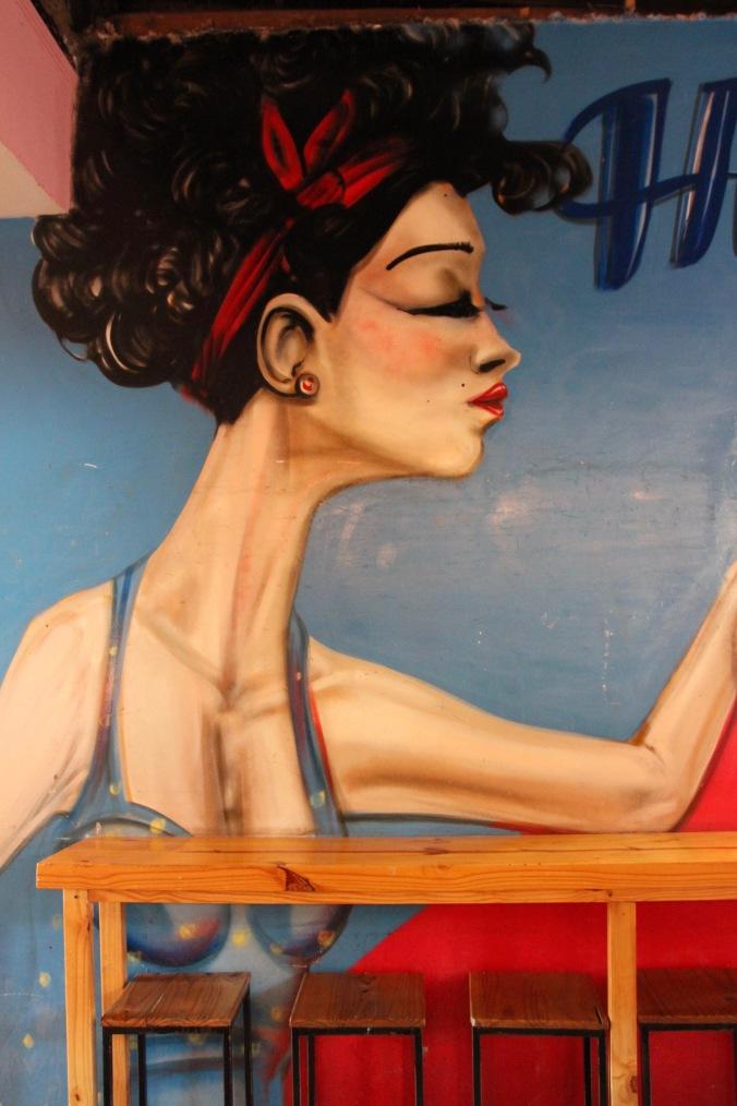 Microbrewery art, Mendoza, Argentina