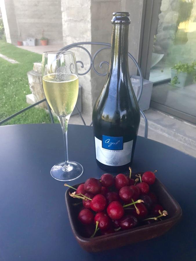 Wine, Finca La Azul, Valle de Uco, Mendoza, Argentina