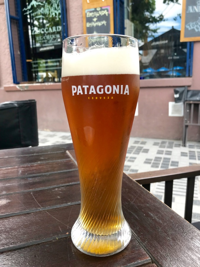 Patagonia beer, Bariloche, Argentina