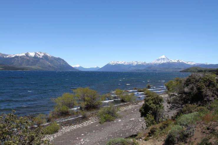 Lago Huechulafquen, Lanin National Park, Patagonia, Argentina