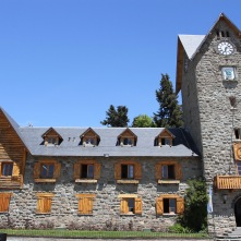Civic Centre, main square, Bariloche, Argentina
