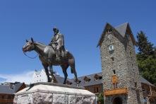 Main square, Bariloche, Argentina