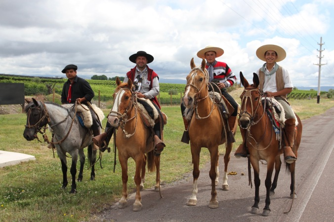Gauchos, Valle de Uco, Mendoza, Argentina