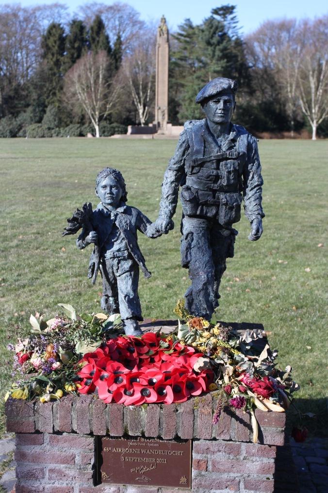 Airborne memorial, Oosterbeek, Arnhem, Netherlands