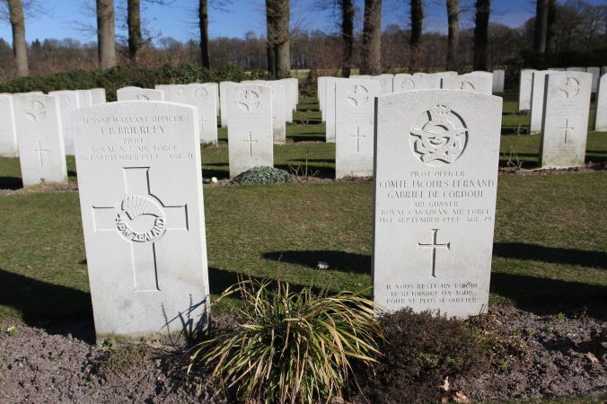 Allied cemetery, Oosterbeek, Arnhem, Netherlands
