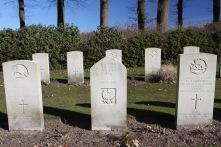 Allied cemetery, Oosterbeek, Arnhem, Netherlands