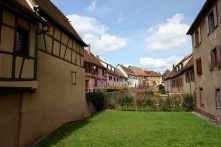 Bergheim, Alsace wine route, France