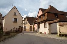 Mittelbergheim, Alsace wine route, France