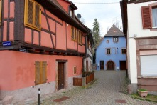 Riquewihr, Alsace wine route, France