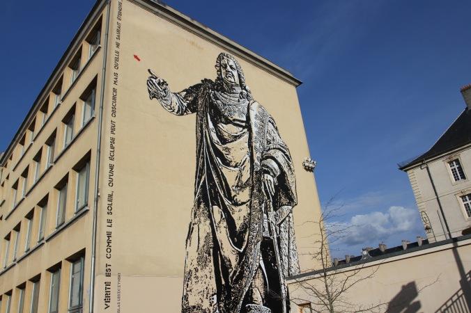 Stanislas Leszczynski street art, Nancy, France