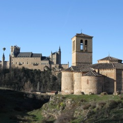 Knights Templar Church, Segovia, Spain